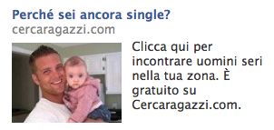 Ancora single: facebook ads