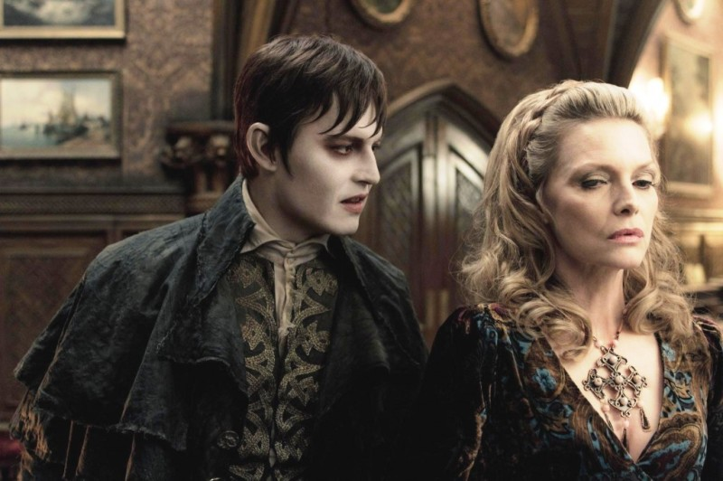 Dark Shadows: Johnny Depp e Michelle Pfeiffer