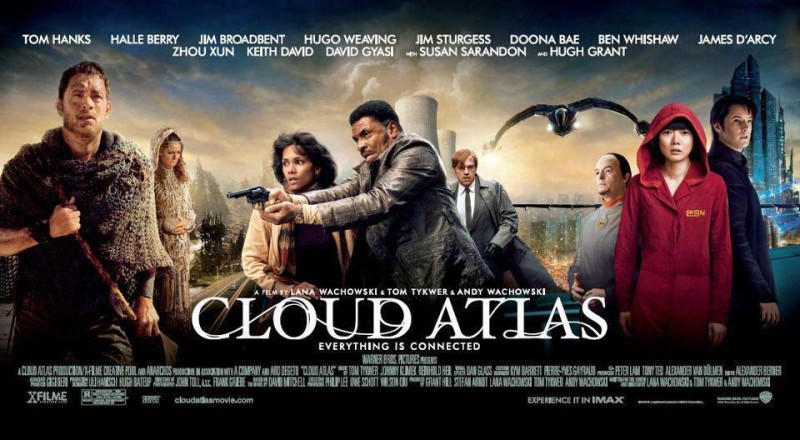 Cloud Atlas: poster orizzontale