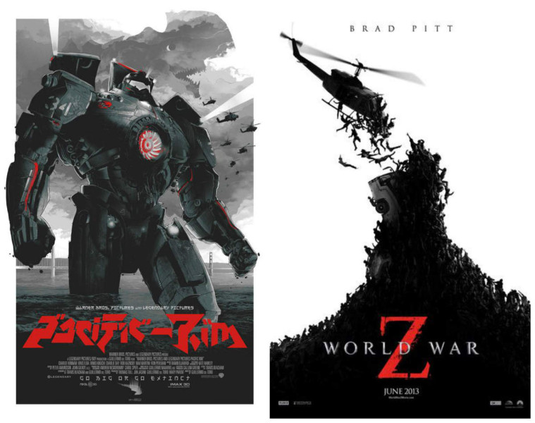 Pacific Rim VS World War Z